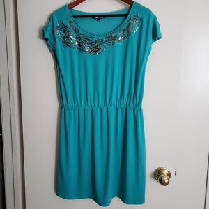 Turquoise Gianni Bini Dress